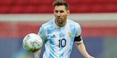 Messi verliert trotz Copa-Sieg 100.000 Euro am Tag