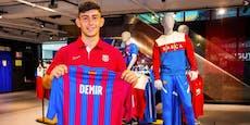 """Demir nach Barca-Training: """"Bin stolz und dankbar"""""""