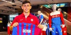 Yusuf Demir spielt sich ins Einser-Team von Barcelona