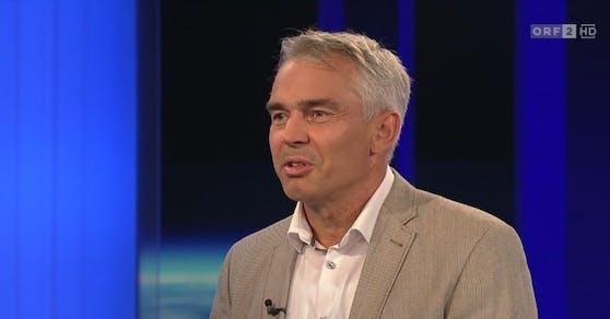 """Epidemiologe Gerald Gartlehner war am Montag (12. Juli) zu Gast bei Armin Wolf in der """"ZIB 2""""."""
