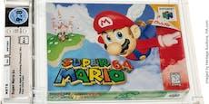 """Rarität: """"Super Mario 64"""" für Rekordsumme versteigert"""