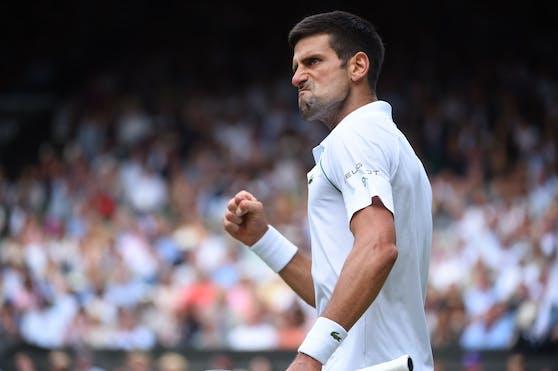 Djokovic: 20 Grand-Slam-Titel wie Federer und Nadal