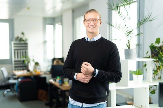 Felix Ohswald (26) ist Mitbegründer der milliardenschweren Plattform Gostudent.