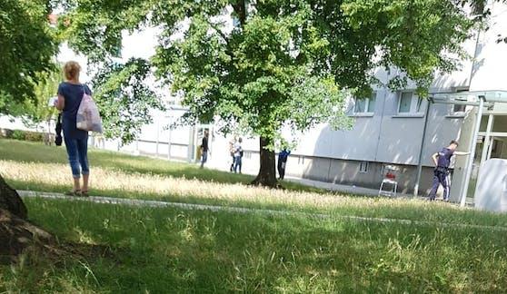 Die Polizei musste nach Wien-Donaustadt ausrücken.