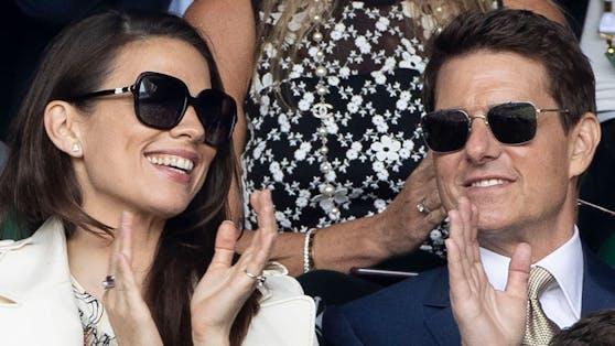 Tom Cruise und seine Kollegin Hayley