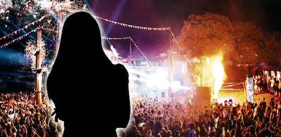 Eine junge Österreicherin soll am Festival vergewaltigt worden sein.