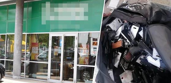 Der 17-Jährige flüchtete laut Polizei mit einer Tasche voll mit 41 Waffen.