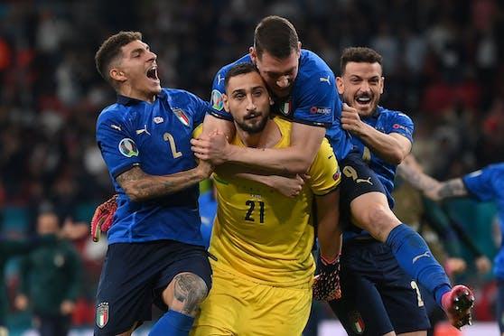 Italien jubelt, nur Donnarumma zögert