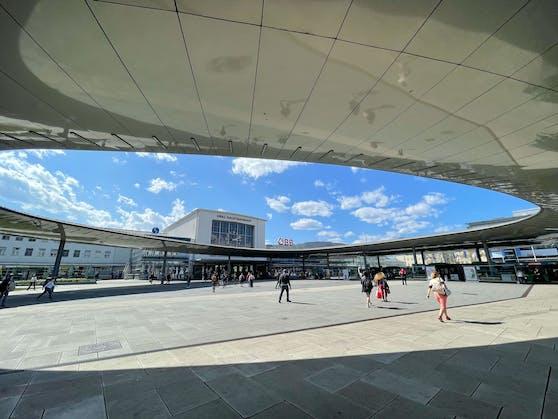 Im Bereich des Grazer Hauptbahnhofs kam es zu einer Widerstandshandlung. Symbolbild.