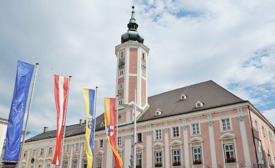 Das Rathaus in St. Pölten