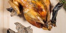Starkoch macht uns mit 220-Euro-Huhn den Mund wässrig