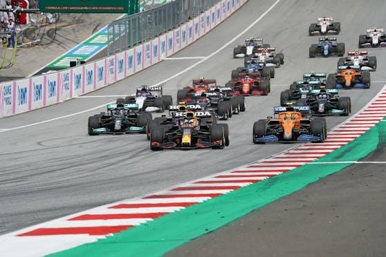 Das erste Sprint-Qualifying steigt in Silverstone.