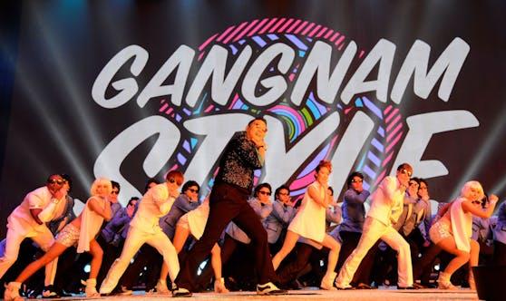 Der Welthit von Psy ist südkoreanischen Behörden zufolge zu schnell und damit eine Corona-Gefahr in Fitnessstudios.