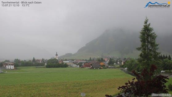 Kräftige Regenschauer in Tirol
