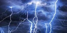Warnstufe ROT! Schwere Gewitter wüten in Österreich