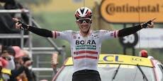 Konrad feiert Sensationssieg auf der 16. Tour-Etappe