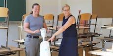 """Wien """"verputzt"""" 12.700 Liter Sanitärreiniger in Schulen"""