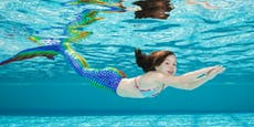 Schwimmen lernen wie Arielle, die Meerjungfrau