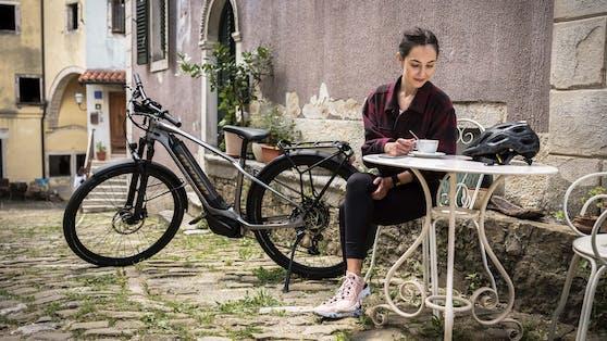 Das neue Greyp T5.2 E-Bike überzeugt mit gleich zwei Kameras.