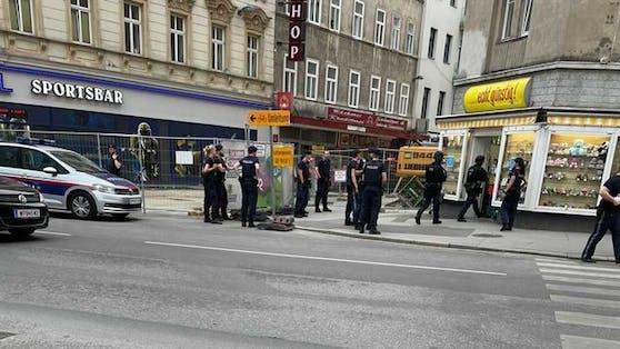 WEGA-Einsatz in Wien-Margareten