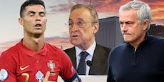 "Neue Leaks: ""Ronaldo Schwachkopf, Mourinho ungezogen"""