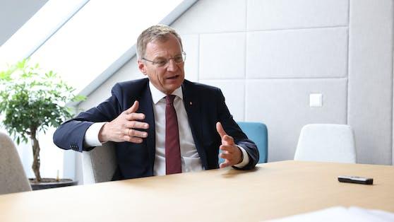 """Thomas Stelzer im Interview mit """"Heute"""""""