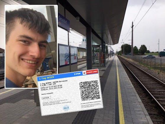 Der 20-jährige Wiener bekam eine Strafe, obwohl er sich einen Fahrschein gekauft hat.