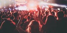 1.000 Besucher infizieren sich auf Musikfestival
