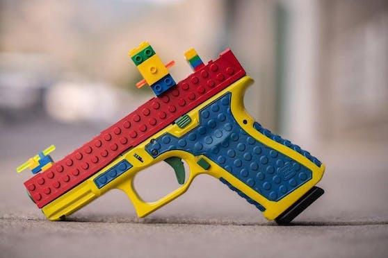Die Block 19 sieht aus wie eine Spielzeugpistole, ist aber eine echte.