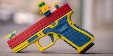 Waffe im Lego-Lookentsetzt Mütter erschossener Kinder