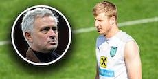 Hat Mourinho auch ein Auge auf Hinteregger geworfen?