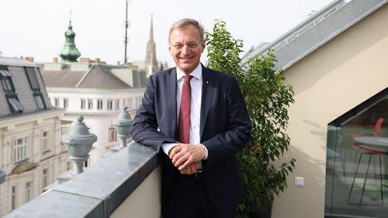 """Thomas Stelzer auf der """"Heute""""-Terrasse"""