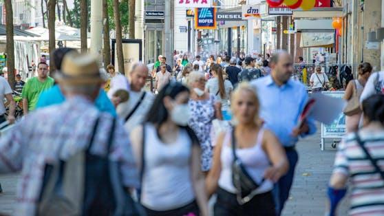 Die Corona-Zahlen steigen in Österreich wieder an.