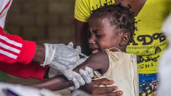 Masern-Impfung in Afrika (Archivbild)