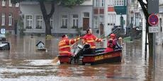 Feuerwehrmann ertrinkt bei Unwetter-Rettungseinsatz