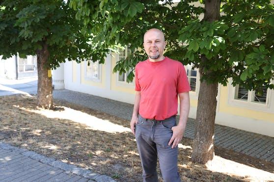 Ulrich Lintl (43) von der Selbsthilfegruppe Amalgam-Quecksilber