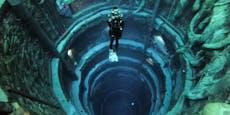 "Tiefster Pool der Welt mit ""versunkener Stadt""eröffnet"