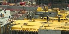 Arbeiter stürzt in die Tiefe und wird schwer verletzt