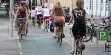 Das ist Rekord! 1,37 Millionen Radfahrer in Wien
