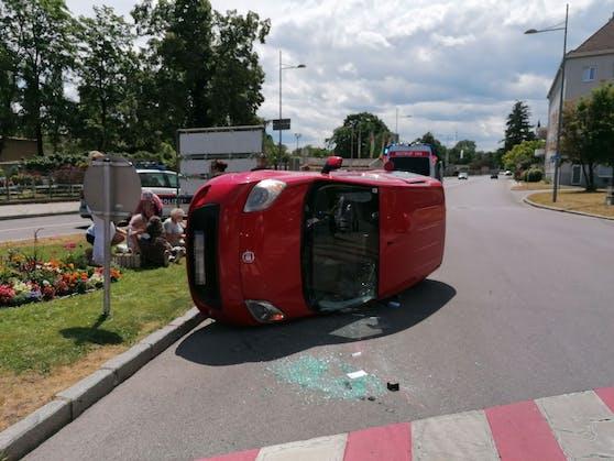 Schwerer Verkehrsunfall in Wr. Neustadt