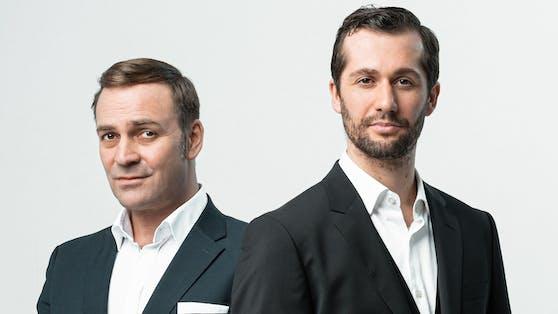 Leonhardsberger (r.) und Schmid (l.) laufen zu Höchstform auf.