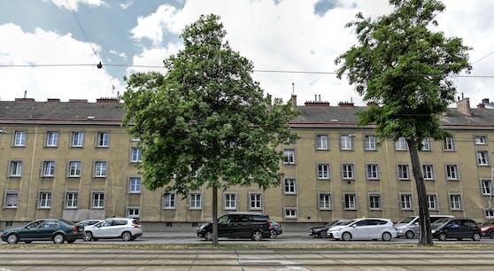 Die Tatwohnung in der Donaustadt.