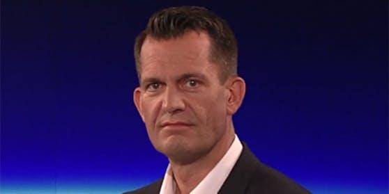 """Gesundheitsminister Wolfgang Mückstein in der ORF-""""ZiB 2""""."""