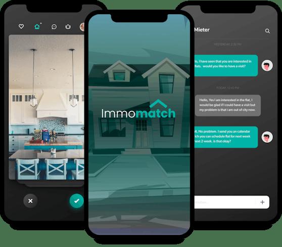 Powered by RUMA Group ist die IMMOMATCH App die erste personalisierte, provisionsfreie Wohnungsbörse Österreichs.