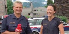 Diese Polizisten sorgen mit Hoppala im ORF für Lacher