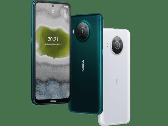 5G Android Smartphone Nokia X10 ab sofort bei A1  um 0 Euro im Tarif 5GigaMobil S erhältlich.