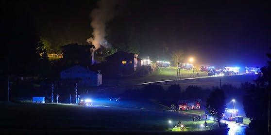 Ein Todesopfer bei Wohnhausbrand in Spital am Pyhrn