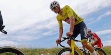 Van der Poel verteidigt Gelb auf Tour-Monsteretappe