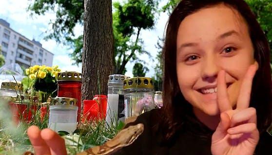 Leonie (13) - hier mit einer Schlange wurde getötet. Vier Männer aus Afghanistan sind tatverdächtig.