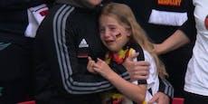 Brite sammelt Geld für weinendes Deutschland-Mädchen